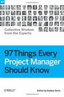 Free Online Book: 97 Things Every Software Project Manager Should Know