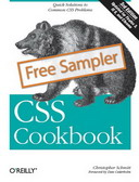 Free eBook: CSS Cookbook Third Edition