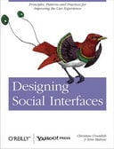 Free Online: Patterns from O'Reilly Media's Designing Social Interfaces