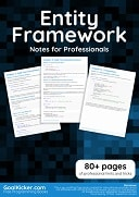 Entity Framework Notes for Professionals