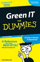 Free eBook: Green IT For Dummies IBM Limited Edition