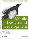 Free online book: Mobile Design and Development