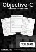 Objective-C Notes for Professionals