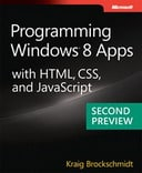 Free Second Preview: Programming Windows 8 Apps with HTML, CSS, and JavaScript
