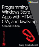 Programming Windows Store Apps with HTML, CSS, and JavaScript, Second Edition