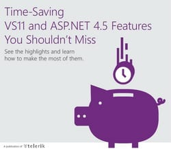 Time-Saving VS11 and ASP.NET 4.5 Features You Shouldn't Miss